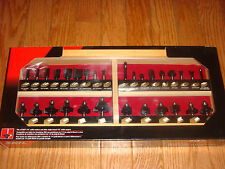 """Skil 30pc Carbide Tipped Router Bit Set with 1/4"""" shanks & Wood Case #91030"""