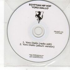 (DV81) Egyptian Hip Hop, Yoro Diallo - DJ CD