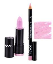 NYX Round Lipstick Baby Pink LSS592 and Slim Lip Liner Flower set