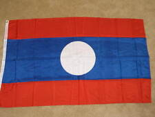 3X5 LAOS FLAG LAOTIAN BANNER NEW COUNTRY ASIA F305