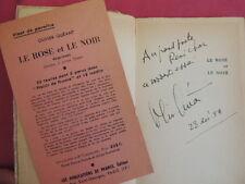 LE ROSE ET LE NOIR esquisses Olivier Quéant envoi de l'auteur !
