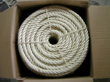 """1/2"""" X 665' Natural Sisal Rope Cat Scratching Post Claw Control Toy Crafts Pet"""
