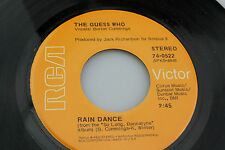 Guess Who: Rain Dance / One Divided  [Unplayed Copy]