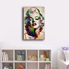 50×80×3cm Framed Canvas Prints Watercolor Marilyn Monroe Wall Art Home Decor
