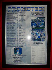 Bristol Rovers League Two promotion 2016 - framed print