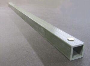 """Fiberglass Square Tube Green  2.0"""" Square x 1/4"""" Wall x 60"""" Length"""
