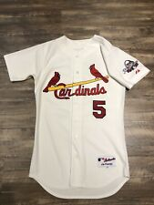 Albert Pujols St. Loius Cardinals Authentic Majestic Jersey 40