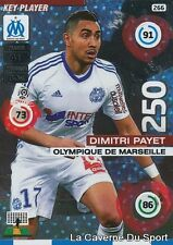 266 DIMITRI PAYET FRANCE OM MARSEILLE KEY PLAYER CARD ADRENALYN 2016 PANINI