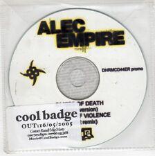 (GJ526) Alec Empire, Kiss of Death - 2005 DJ CD