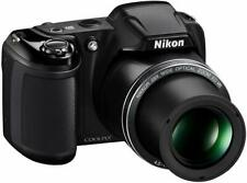 NIB -Nikon Coolpix L340 20.2 MP Digital Camera - 28x Optical  - US Version - BLK