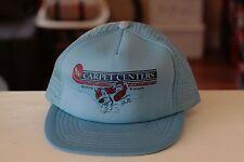 Rare Vtg The Carpet Centers Wichita Kansas Mesh Trucker Snapback Hat Cap
