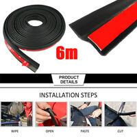 1/4/6M Z Type Car Door Edge Rubber Seal Strip Hollow Weatherstrip Trim Protec IY
