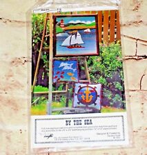 1982 VIP Craft BY THE SEA Full Size Applique Quilt Pattern Wall Hanging Pillow