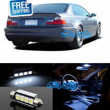 Pure White LED Interior Light Package 14 Pcs Fit 99 - 05 BMW 3 Series M3 E46