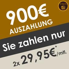 Top Deal: 900€ Bargeld-Auszahlung mit Handyvertrag | NUR 2x 29,95€* | AG Frei