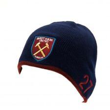 21109e2c West Ham United Football Club Crest Navy Payet Knitted Beanie Hat UK