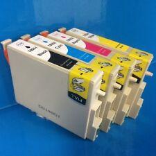 8 X Epson T0551 T0552 T0553 T0554 TO551 TO552 TO553 TO554 Cartuchos de Tinta NON OEM