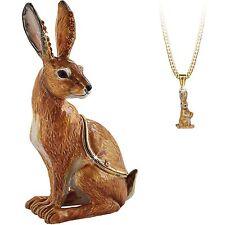 Secret Hidden Treasures - Hare Trinket Box NEW