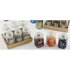 Glas dosen STORAGE 6tlg Einweckgläser Vorratsgläser Frischhaltedosen mit Deckel