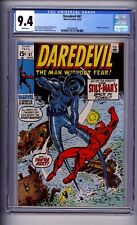 CGC (MARVEL) DAREDEVIL  67 9.4 NM  NICE!(@@)! 1970 WHITE PAGES