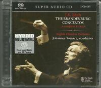 "2-SACD Set ""J.S. Bach: The Brandenburg Concertos Complete 1-6"" Somary 2001"