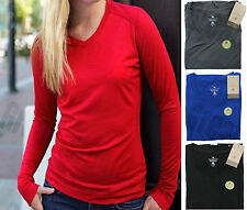 Long Sleeve Hip Length Semi Fitted Tops & Shirts for Women