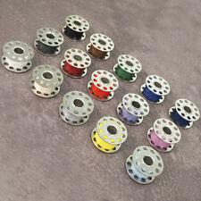 15 CB Nähmaschinenspulen - Spule für Nähmaschine - 20 x 11 mm Spulen Metall NEU