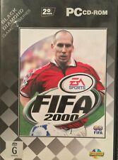 FIFA 2000 Black Diamond Game Series PC 2 CD Rare Edition Instructions Free Post
