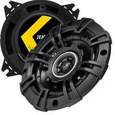 """Kicker 1-PAIR 4"""" DS Series 120W Max /30W RMS 2-Way Coaxial Car Speakers"""