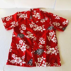 RENO ACES Promotional Hawaiian VLV Shirt Arizona Diamondbacks Mens Size Large