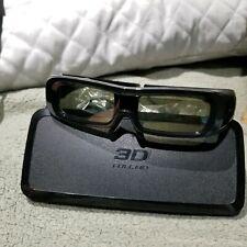 Panasonic Active Shutter 3-D TV Glasses TY-EW3D2M Full HD E340592 Mint NR US HTF