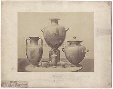 Objets d'Art Ancient Collection Castellani Italie France Vintage Albumine