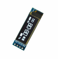 "1PCS IIC I2C 0.91"" 128x32 white OLED LCD Display Module 3.3v 5v gv"