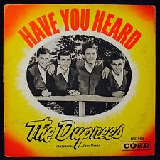 THE DUPREES-HAVE YOU HEARD-A Classic Doo Wop Album-COED #LPC 906-Vocal Group