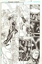 Green Lantern: Emerald Warriors #12 p.4 Guy Gardner - 2011 art by Chris Batista