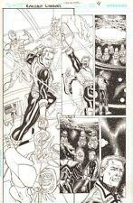 Green Lantern: Emerald Warriors #12 p.4 Guy Gardner - 2011 art by Chris Batista Comic Art