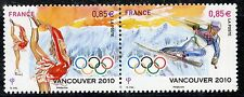 STAMP / TIMBRE DE FRANCE  N° P4436 ** JEUX OLYMPIQUES HIVERS CANCOUVER 2010