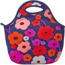 Gourmet to Go Neoprene Lunch Tote, Built, Lush Flower