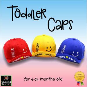 Toddler Kids Baby Hat Cap casual Smiley