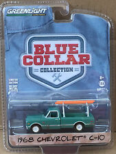 Greenlight Blue Collar  1968 Chevrolet C-10 pickup w/ ladder rack