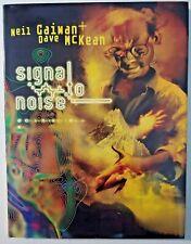 Signal To Noise Neil Gaiman Dave McKean Hardcover Dark Horse 2nd Edition Book P1
