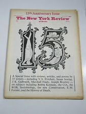 New York Review Of Books- October 12, 1978- 15th Anniversary Issue