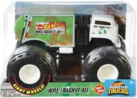 Hot Wheels 2020 1:24 Monster Truck Metal Body Suspension - Will Trash It All