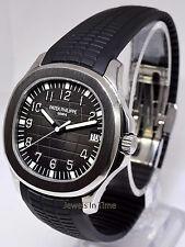 * Patek Philippe Jumbo Aquanaut 5167 Steel Rubber Mens Watch & Box 5167A