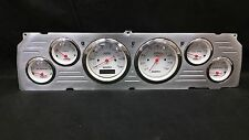1964 1965 1966 CHEVY TRUCK 6 GAUGE DASH CLUSTER WHITE