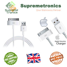 iPhone 4 4S 3GS Official Apple 30 Pin USB Cable MA591G/A iPad iPod NEW Genuine