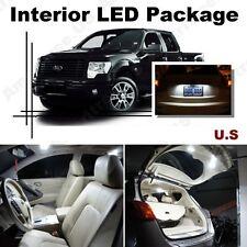 For Ford F250 F350 1999-10 Xenon White LED Interior kit +White License Light LED