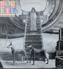 """BLUE OYSTER CULT """"EXTRATERRESTRIAL LIVE"""" ORIG HOLL 1982 2 LPS"""