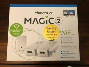 devolo 8393 Magic 2 2400Mbps Whole Home WiFi Kit Powerline Adapter