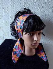african hair scarf, African headband, African bandana, African hair wrap